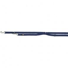 Vodítko PREMIUM prodlužovací 2m/20mm (M-L),  - indigo