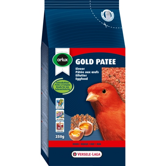 Versele Laga ORLUX Gold Patee Canaries Red 250 g