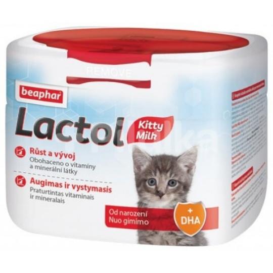 Beaphar Lactol Kitty Milk Sušené mlieko pre mačiatka Hmotnosť: 500 g