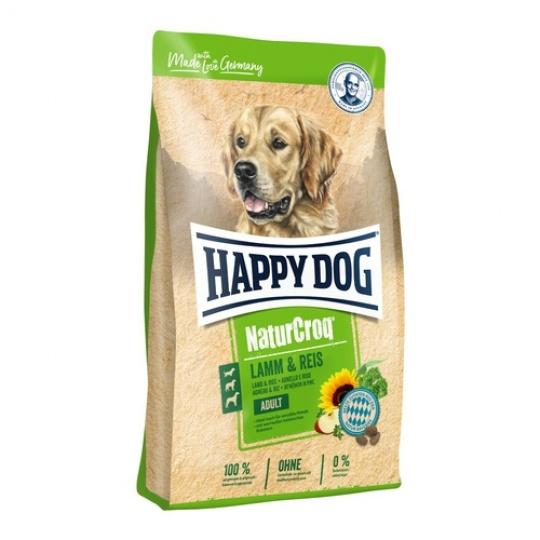 Happy Dog NaturCroq LAMM & REIS / Lamb & Rice 15 kg