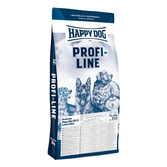 Happy Dog Profi Line Puppy Mini LAMM & REIS / Lamb & Rice 20 kg + DOPRAVA ZDARMA