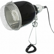 Reflektorová svorková lampa s ochrannou mřížkou, 14x19cm, 150 W (RP 5,10 Kč)
