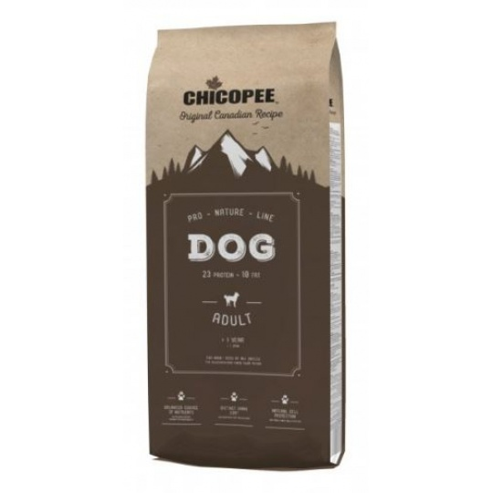 Chicopee Pro Nature Line Adult Chicke & Rice 20 kg