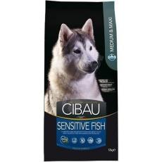 Cibau dog Adult Sensitive Fish medium & maxi 12 kg