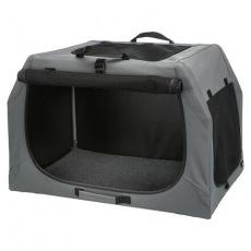 Skládací cestovní box EASY, S-M: 71 x 49 x 51cm, šedý