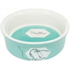 Keramická miska pro králíky HELLO COMIC, 240 ml/ø 11cm